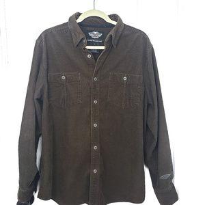 Harley Davidson Men's Corduroy Shirt